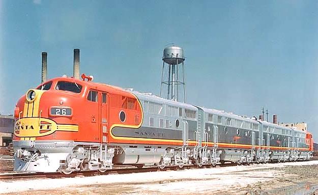 Diesellokomotiven Emd F Reihe