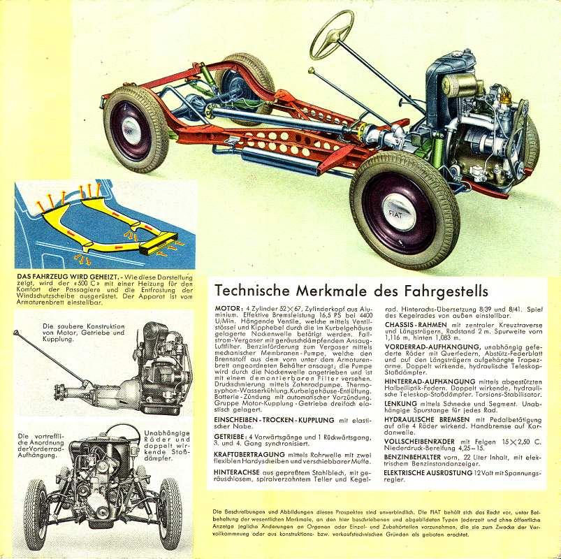 Fiat Topolino 500 B Und C