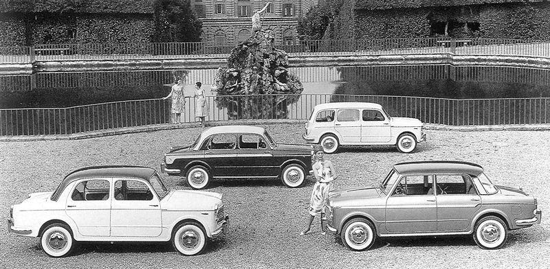 Fiat 1100 R, RL, Neckar / 103 ...