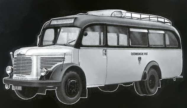 Steyr Diesel 380 Ii Omnibusse