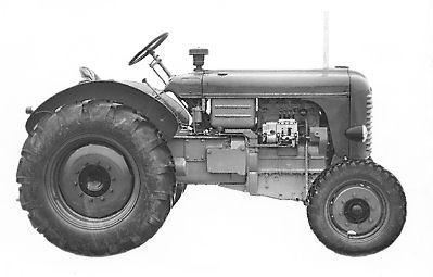 steyr traktoren ab 1947 die gro en traktoren steyr 185 und steyr 280. Black Bedroom Furniture Sets. Home Design Ideas