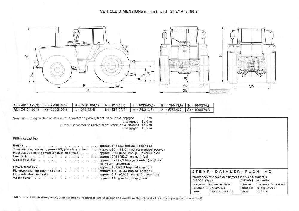 steyr traktoren nach 1967 die steyr plus reihe und andere. Black Bedroom Furniture Sets. Home Design Ideas